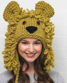 9dd47c4d41b Be an animal with a cute knitted animal hat