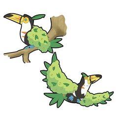 """Conozcan a...TUPLANT, de tipo planta-Volador... Info: Tuplant es una de las evoluciones posibles de Totype con ayuda del """"incienso elemental planta"""" ... éste adapta y cambia su forma física para así obtener su nuevo tipo... Los Tuplant también son llamados pokémons arbustos, ya que estos habitualmente se los confunde con ellos. Éste pokémon vive en las copas de los árboles donde se alimenta de frutas que solo crecen allí. Pero rara veces se los puede ver, al menos que bajen a beber agua, ya…"""