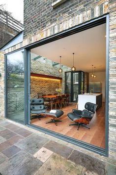 Dalmeny Rd - Exterior - London - by Martins Camisuli Architects Architects, Exterior, Patio, London, Outdoor Decor, Home Decor, Decoration Home, Room Decor, Building Homes