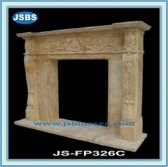 Stone Carved marble fireplace mantel Marble Fireplace Mantel, Marble Fireplaces, Fireplace Mantels, Marble Carving, Stone Fountains, Stone Cladding, Stone Veneer, Wooden Crates, Animal Sculptures