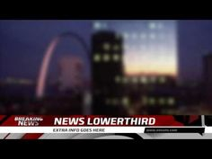 News Channel Lower Third After Effects Template