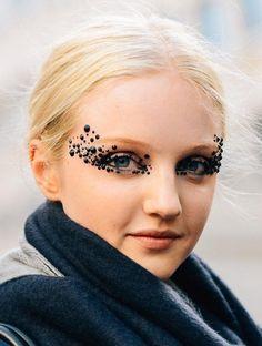 Embellished eyes