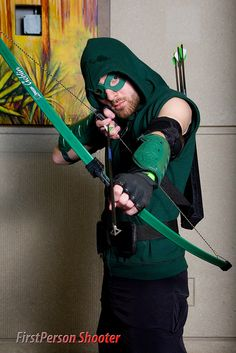 Green Arrow cosplay