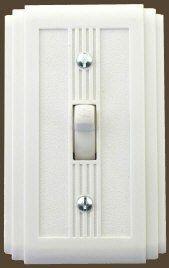 Art Deco 1920's bakelite light switch