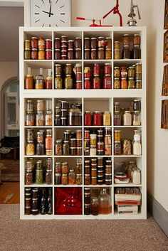 Pantry via WellPreserved.ca. Love these guys. #diy