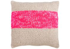 Freedom Neon Knit Cushion