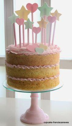 Naked cake para festa infantil