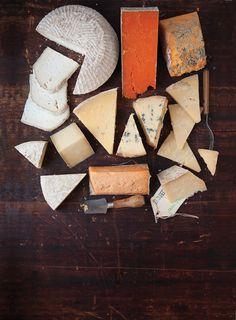 English Artisan Cheeses...