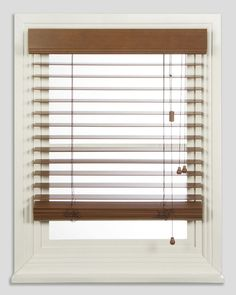 timber venetian blinds on white window frame - Google Search