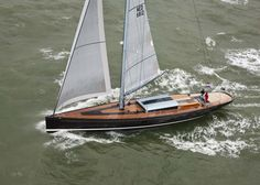 Tulip 88 on the North Sea #sailing #yacht http://www.yachtemoceans.com/luxury-sailing-yacht-tulip-by-km-yachtbuilders/