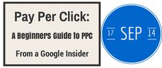 """In this live 1 hour webinar, Social Media and Digital Marketing evangelist, Warren Knight will be co-presenting with Emma Maguire, PPC Expert, Trained by #Google! to share with you """"Pay Per Click: A Beginners #PPC Guide from a Google Insider"""" Date: Wed, Sep 17, 2014 4:00 PM - 5:00 PM BST First 20 people to signup get a FREE £75 Voucher"""