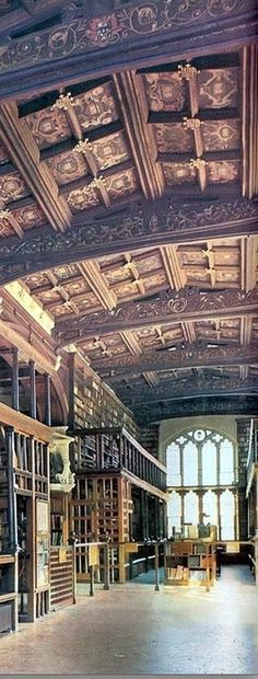 The Bodleian Library, Oxford University, England