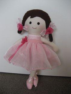 Ella dressup ballerina - by Marigold on madeit