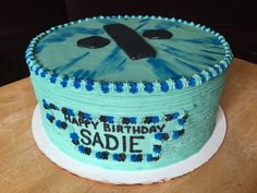 Another happy customer! 9-inch diameter, 4-layered, chocolate cake with chocolate mousse filling and covered with whipped cream frosting, designed to match the latest Ed Sheeran album cover. #mixitup #MixItUpDJandCakesService #cakedecorating #cake #justsaynotofondant #birthdaycake #chocolatemousse #edsheeran