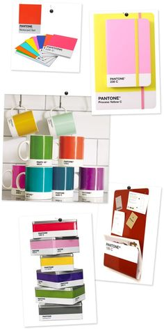 Obsess & Inspire - Pantone  Thought of you when I saw this @Amelia / 4reshAIR!