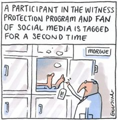 Social media may be killing witness protection - #Socialmedia sites such as #Facebook and #Instagram have emerged as one of the biggest threats to blowing the cover of the hundreds of witnesses kept in secret protection programs around the country | SMH