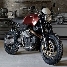 View a number of my most popular builds - specialty scrambler bikes like this Moto Guzzi, Guzzi V7, Norton Cafe Racer, Triumph Cafe Racer, Cafe Racers, Modern Cafe Racer, Vintage Cafe Racer, Bike Style, Moto Style