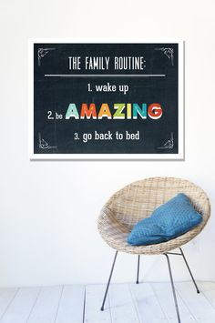 Great inexpensive art for kids!  Perfect in a kids bedroom or bathroom.  Etsy.