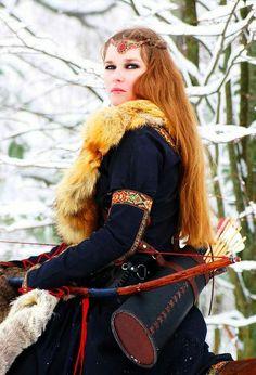 Hungarian or Czech noblewoman