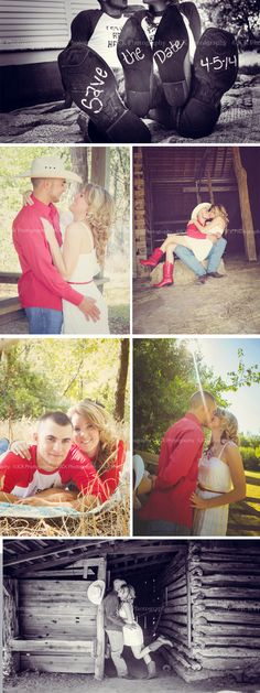 Love the rustic feel in these engagement pictures. JCK Photography » Blog