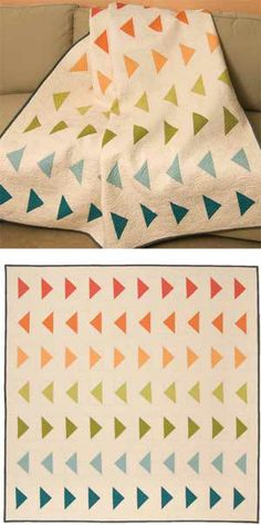 Quietude quilt kit from Keepsake Quilting. Simple and pretty.
