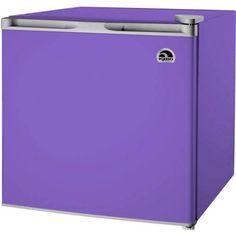 Small Refrigerator for Dorm Mini Fridge Compact Freezer cu Purple Igloo Home Purple Love, All Things Purple, Purple Rain, Purple Stuff, Compact Refrigerator, Refrigerator Freezer, Refrigerator Compressor, Small Mini Fridge, Invisible Doors