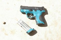 M And P Shield Custom M&p shield 9 painted teal