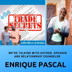 """New """"Trade Secrets"""" episodes coming soon! For now, feel free to catch up on episodes from the previous podcast – """"Candid Conversations"""" =================================================================================================================== Trade Secret, Candid, Author, Relationship, Feelings, Check, Writers, Relationships"""