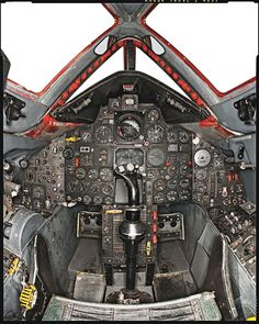 Lockheed SR-71 Blackbird cockpit
