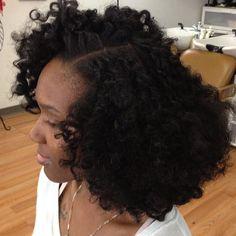 Natural Hair Glory- Bantu Knot Out