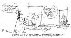 """Compartimos nuestra caricatura del día : """"Desde la Isla Trinitaria, reportó..."""""""
