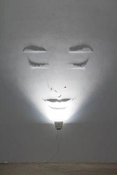light art installation Sculpting the light (shadow art) By Fabrizio Corneli . You might also like Sources: Fabrizio Corneli Lamp Design, Lighting Design, Lighting Ideas, Club Lighting, Wall Lighting, Interior Lighting, Chandelier Lighting, Design Design, Instalation Art