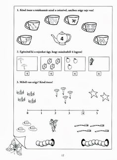 Albumarchívum - Mesés matematika Worksheets, Bullet Journal, Math Equations, Album, Teaching, Maths, Archive, Puzzle, Number