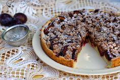 Retete Culinare - Tarta cu prune si scortisoara