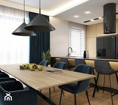 Modern Kitchen Design, Interior Design Kitchen, Kitchen Decor, Dining Room Design, Home Projects, Interior Inspiration, Decoration, Dining Table, Living Room