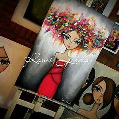 Canvas Art Prints, Painting Prints, Coin Art, Art Courses, Artist Gallery, Face Art, Beautiful Paintings, Diy Painting, Art Girl