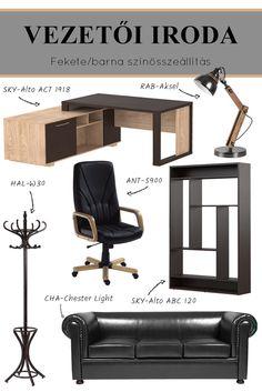 Milyen irodában szeretnél dolgozni? Egy kényelmes, praktikus és esztétikus irodabútor képes a munkát megkönnyíteni, az irodai hétköznapokat szebbé varázsolni. A jól megválasztott vezetői irodabútor már önmagában is tekintélyt sugároz. #vezetőiiroda#főnökiiroda#iroda#dolgozószoba#főnöki#irodaberendezése#irodabútorok#officefurniture#furniture#officedesign#office Ravenna, Office, Chair, Modern, Furniture, Home Decor, Trendy Tree, Decoration Home, Room Decor