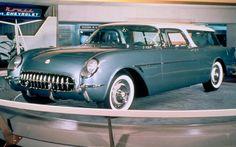 1954 Chevrolet Nomad.