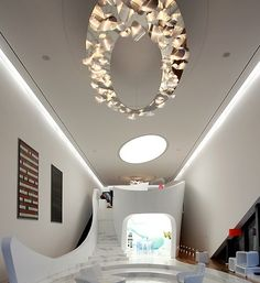 Obsessed with the curved stairwall leading up to the bedroom, thanks to 시크릿 가든 드라마