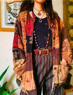 Mode Hippie, Hippie Chic, Bohemian Gypsy, 70s Fashion, Vintage Fashion, Fashion Outfits, 70s Inspired Fashion, Quirky Fashion, Hippie Fashion