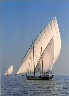 "Pearling dhows (boats - the ""h"" is virtually silent) are seldom used in the Persian Gulf by Kuwaitis today; most dhows are in museums."