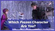"Which ""Frozen"" Character Are You? I didn't  even get a main character, I got Marshmallow the snow monster."