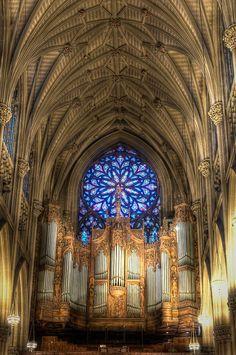 St Patricks Cathedral New York. USA
