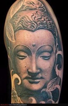Religious Buddha Tattoo Picture photo - 1