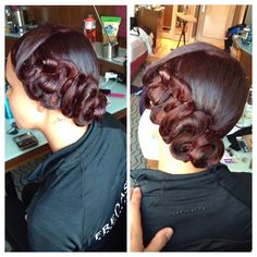 Ballroom hair #ballroom #dance #hair