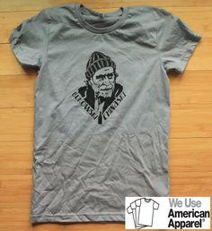 Charles Bukowski Women's American Apparel Shirt