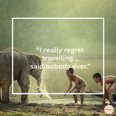 Yes there can be some challenging moments when you travel around the world, but at the end, traveling is always a new experience! :)