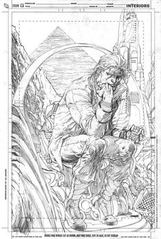 The Thinker by Jim Lee *