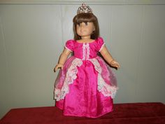 Princess Dress for American Girl Doll
