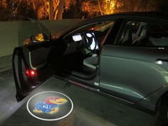 KANSAS JAYHAWKS LED CAR DOOR SHADOW LIGHTS
